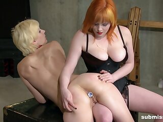 Marvelous lesbian scenes between two chicks with flaked-out tortuosities