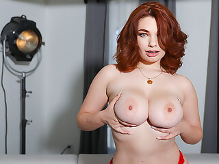 Busty Girl Plays With Say no to Secret agent