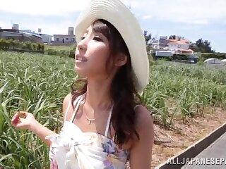 POV outdoors pic of Shunka Ayami giving a blowjob to a outlander