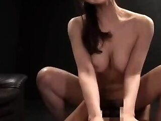 Asian pornstar banging two white hard up persons Asian Group Hardcore