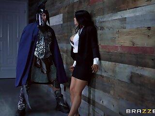 Anal brings superheroine Romi Rain the most pleasure of all
