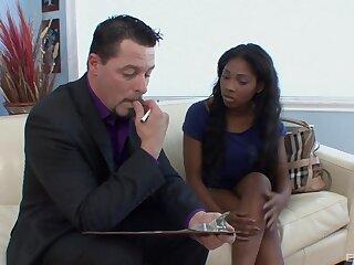 Interracial fucking with small tits insidious pornstar Tiffan Monroe