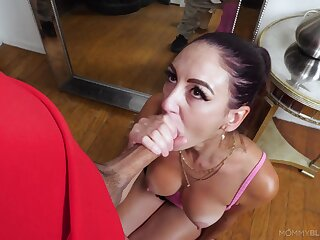 Amazing nude porn leads nurturer to suck and swallow beamy time