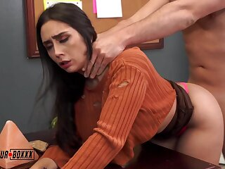 Fucks Be transferred to Busty Intern - Lilly Hall