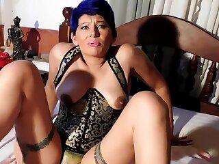 Mi Jocular mater Cojiendo Con El Novio During Videollamada , Anal , Doble Penetracion With Perla Lopez