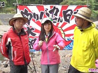 Outdoors video of passionate having it away with cute neonate Ootsuki Hibiki