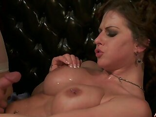 Hardcore group sex party near pornstar Jenny Hendrix together with her friends